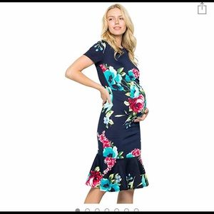 My Bump Maternity Mermaid Style Dress XL